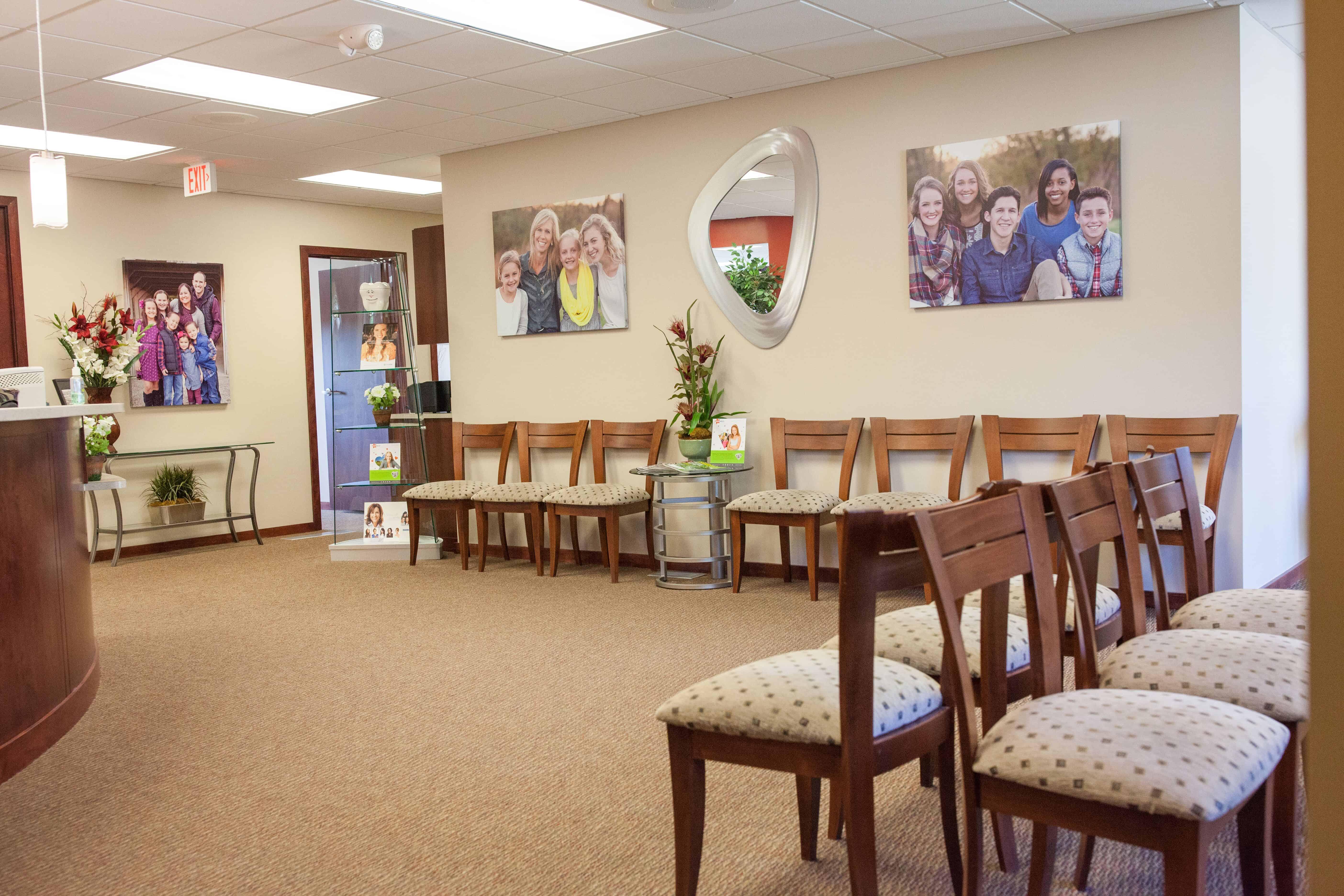 Omaha Orthodontist Waiting Room