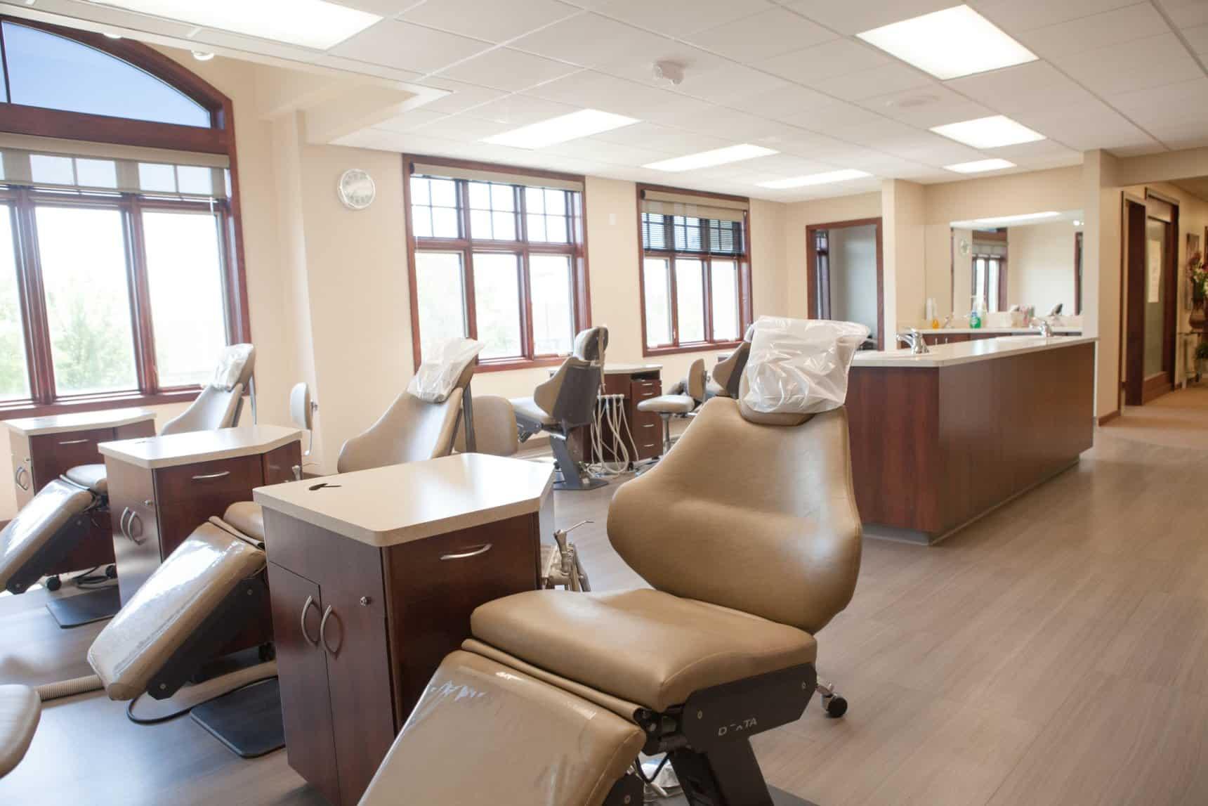 McAllister Orthodontics dental floor