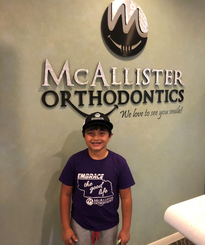 Rewards points winner at McAllister Ortho