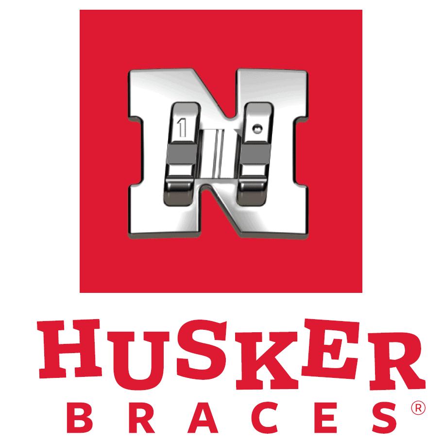 Husker Braces logo